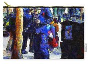 Van Gogh Is Captivated By A San Francisco Street Performer . 7d7246 Carry-all Pouch