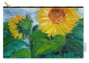 Van Gogh Sunflowers Carry-all Pouch