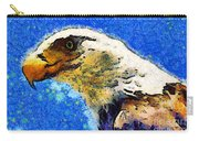 Van Gogh.s American Eagle Under A Starry Night . 40d6715 Carry-all Pouch