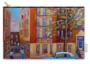 Van Horne Boulevard Montreal Street Scene Carry-all Pouch