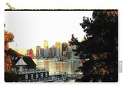Vancouver At Sundown Carry-all Pouch by Will Borden
