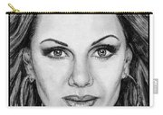 Vanessa Williams In 2009 Carry-all Pouch by J McCombie