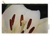Vanilla Lily Carry-all Pouch
