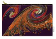 Variegated Abstract Carry-all Pouch