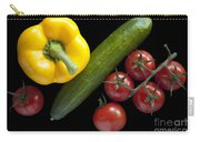 Veggie Composition Carry-all Pouch