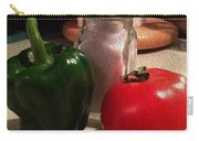 Veggies And Salt Carry-all Pouch