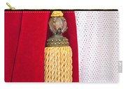 Velvet Curtain Carry-all Pouch