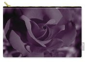 Velvet Rose Carry-all Pouch by Aidan Moran
