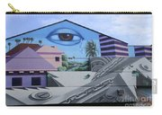 Venice Beach Wall Art 3 Carry-all Pouch