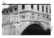 Venice Bridge Bw Carry-all Pouch