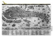Venice: Map, C1566 Carry-all Pouch
