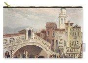 Venice: Rialto, 1833 Carry-all Pouch