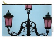 Venitian Lamp Posts Venice Italy Carry-all Pouch