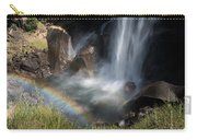 Vernal Falls Rainbow On Mist Trail Yosemite Np Carry-all Pouch