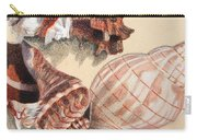 Vertical Conch Shells Carry-all Pouch