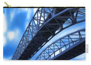 Very Blue Water Bridge  Carry-all Pouch