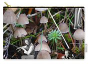 Very Tull Mushrooms Carry-all Pouch