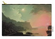 Vesuvius From Posillipo Carry-all Pouch by Joseph Wright of Derby