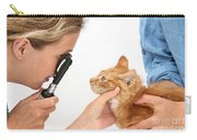 Vet Examining Kitten Carry-all Pouch