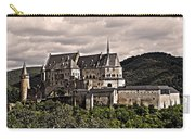 Vianden Castle - Luxembourg Carry-all Pouch by Juergen Weiss