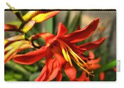 Vibrant Crocosmia Carry-all Pouch