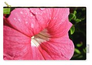 Vibrant Petunias Carry-all Pouch