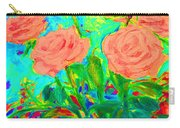 Vibrant Roses Carry-all Pouch