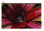 Vibrant Succulent  Macro Carry-all Pouch