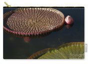 Victoria Amazonica Leaves Carry-all Pouch