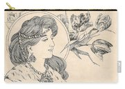 Victorian Lady - 1 Carry-all Pouch
