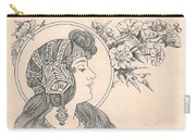 Victorian Lady - 3 Carry-all Pouch