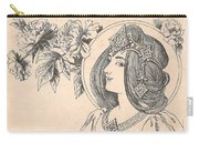 Victorian Lady - 4 Carry-all Pouch