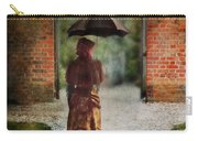 Victorian Lady By Brick Archway Carry-all Pouch