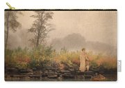 Victorian Lady By Row Boat Carry-all Pouch