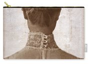 Victorian Lady From Behind Carry-all Pouch