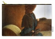 Victorian Lady Gazing Out The Window Carry-all Pouch