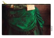 Victorian Lady With Letters Carry-all Pouch