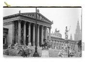 Vienna Austria - Parliament Building - C 1926 Carry-all Pouch