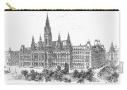 Vienna: City Hall, 1889 Carry-all Pouch