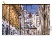 Vienna Cobblestone Alleys And Forgotten Streets Carry-all Pouch