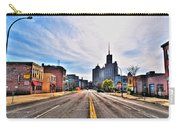 View Down Broadway Into Downtown Buffalo Ny Carry-all Pouch