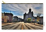 View Down Broadway Into Downtown Buffalo Ny Vert Carry-all Pouch