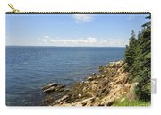 View From Bass Harbor Light Carry-all Pouch