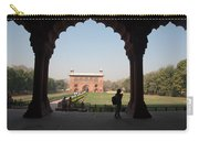 View From Inside The Red Fort With Tourist Carry-all Pouch