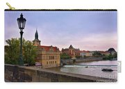 View From The Charles Bridge Revisited Carry-all Pouch by Madeline Ellis