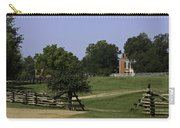 View Of Appomattox Courthouse 1 Carry-all Pouch by Teresa Mucha