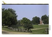 View Of Appomattox Courthouse 2 Carry-all Pouch by Teresa Mucha