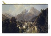 View Of Berchtesgaden Carry-all Pouch