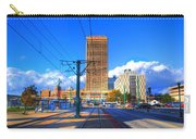 View Of Downtown Buffalo From The Tracks Carry-all Pouch