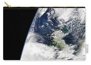 View Of Earth From Space Showing Carry-all Pouch by Stocktrek Images